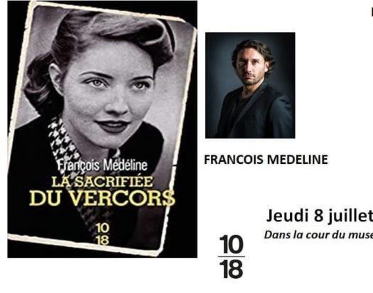 Rencontre avec François Médéline à la Librairie du Passeur de l'Isle