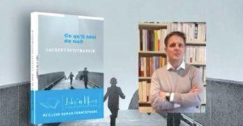 Laurent Petitmangin, lauréat du prix Libr'à Nous 2021, catégorie littérature francophone