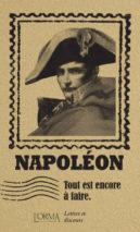 Napoléon Bonaparte, Tout est encore à faire
