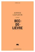 Annie Lafleur, Bec-de-lièvre