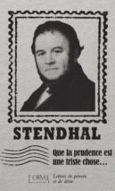 Stendhal, That Caution is a Sad Thing...