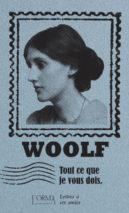 Virginia Woolf, All I Owe You
